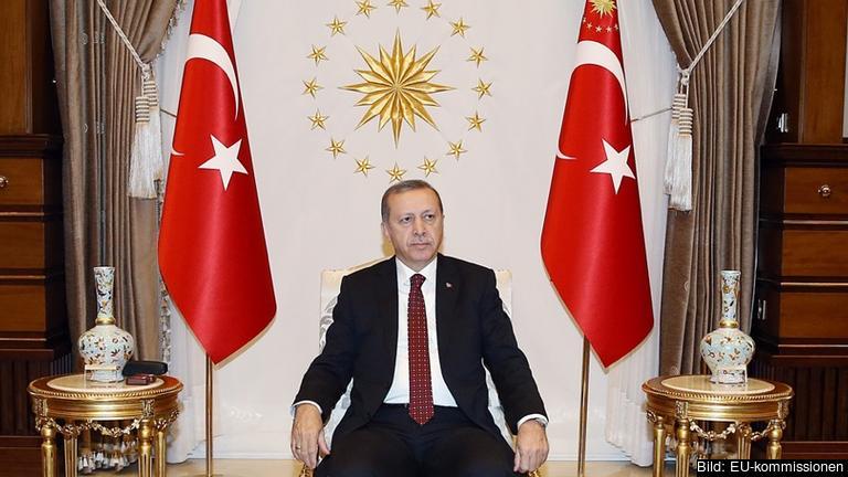 Turkiets president Recep Tayyip Erdoğan. Foto: EU-kommissionen