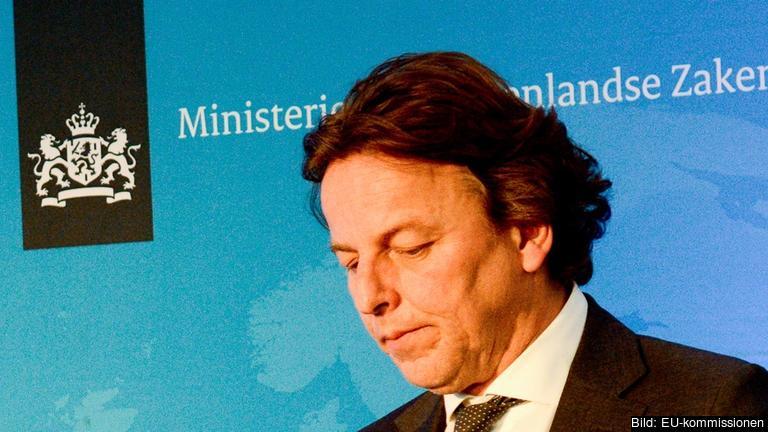Nederländerna utrikesminister Bert Koenders gillar inte utfallet i folkomröstningen. Arkivbild.