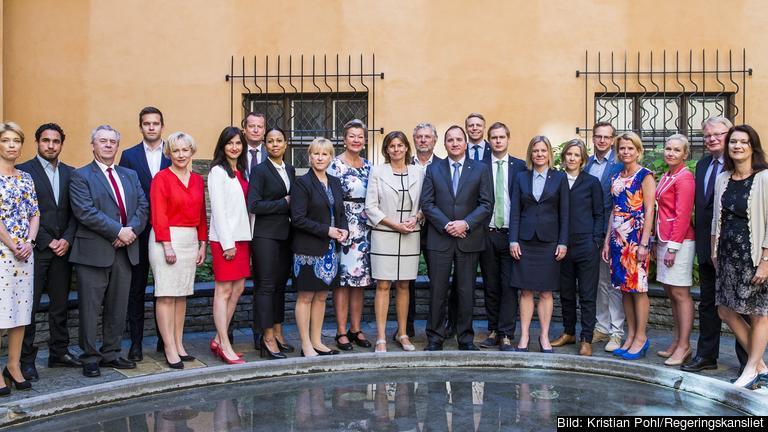 Vissa av ministrarna har haft inget ett ytterst få möten i EU-nämnden. Arkivbild.