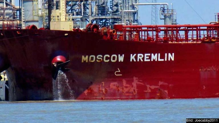 Den svenska importen från Ryssland ökade 2014. Främst rör handeln rysk råolja. Foto: Joecabby2011