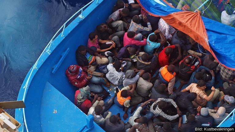 Sverige ska ta emot sammanlagt runt 5 700 flyktingar inom omfördelningsprogrammet. Arkivbild.