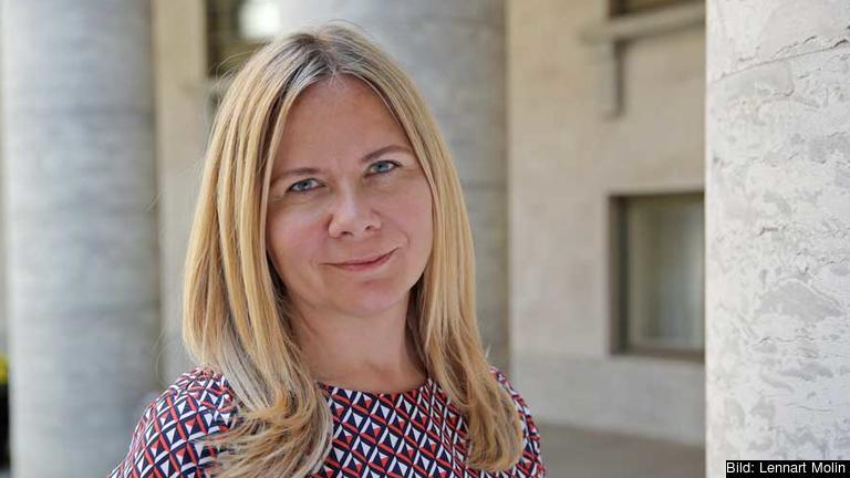 Sofia Damm (KD) riksdagsledamot och utrikespolitisk talesperson för Kristdemokraterna. Arkivbild.