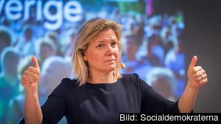Finansminister Magdalena Andersson. Foto: Socialdemokraterna