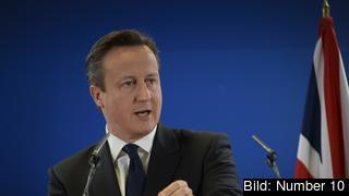 Den brittiske premiärminister lovar mer självstyre. Arkivbild.