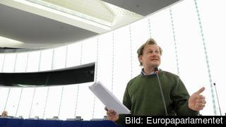 Carl Schlyter i EU-parlamentet. Arkivbild.