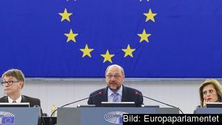 EU-parlamentets talman Martin Schulz. Arkivbild.