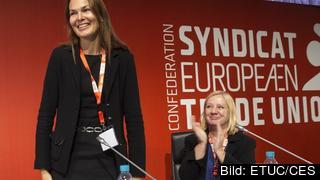 Veronica Nilsson nyvald biträdande generalsekreterare i Europafacket.