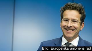 Är Dijsselbloem lika glad efter eurogruppsmötet på torsdag? Arkivbild.
