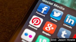 Twitter och Facebook är några av de sociala medier som väntas nagelfaras av Europol. Arkivbild.