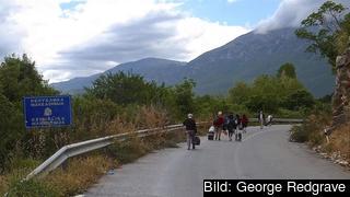 Makedonien är ett av de länder som börjat filtrera flyktingar. Arkivbild.