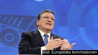 EU-kommissionens ordförande José Manuel Barroso under måndagens presentation av rekommendationerna.