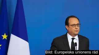 Frankrikes president François Hollande. Arkivbild.