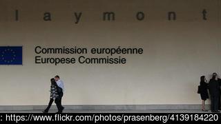 EU-kommissionens högkvarter i Bryssel. Arkivbild.