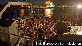 40 000 syriska och eritreanska flyktingar ska fördelas på medlemsländerna om EU-kommissionen plan blir verklighet. Arkivbild.