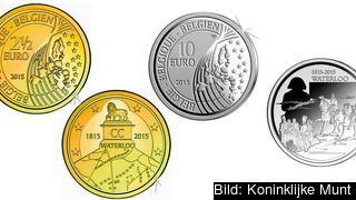 2,5-eurosmyntet säljs för sex euro och tioeurosmyntet för 42 euro.