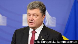 Ukrainas president Petro Porosjenko. Arkivbild.