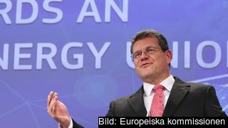 Maroš Šefčovič, vice ordförande i EU-kommissionen, ansvarar för arbetet med energiunionen.