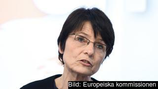 EU:s sysselsättningskommissionär, belgiska kristdemokraten Marianne Thyssen. Arkivbild.