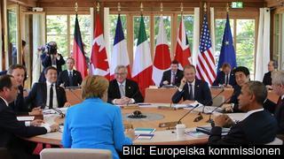 Ledarna för G7-länderna träffades i södra Tyskland under söndagen och måndagen.