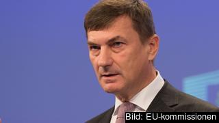 EU-kommissionär Andrus Ansip från Estland ansvarar för den digitala inre marknaden.