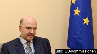 EU:s skattekommissionär, den franske socialdemokraten Pierre Moscovici, ansvarar för förslaget. Arkivbild.