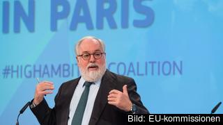 EU:s klimatkommissionär Miguel Arias Cañete.