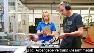 Varje år påbörjar mellan 5 och 600 000 tyska ungdomar lärlingsutbildningar. Arkivbild.