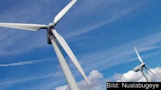 Minst 20 procent av energianvändningen ska komma från förnybara källor 2020. Arkivbild.