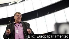 Peter Lundgren är en av två EU-parlamentarikern från Sverigedemokraterna som nu blir grupplösa. Arkivbild.